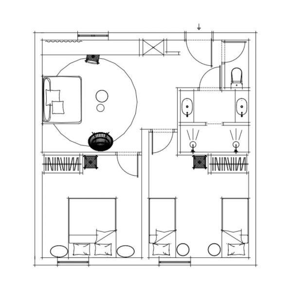 The Appartment Floorplan